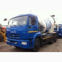 Новый автобетоносмеситель TZA-58149Z Туймазы 9 м3 на шасси КамАЗ-6520