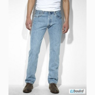 Джинсы Levis 501 Original Fit Jeans - Light Stonewash (США)