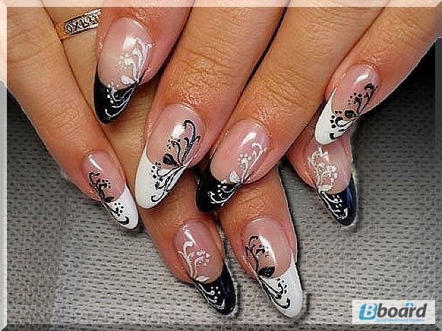 Фото рисунки на ногтях овальных ногтях
