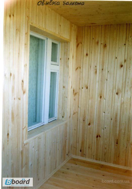 Фото к объявлению: обшивка и утепление балкона деревянной ва.