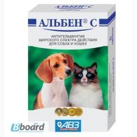 Альбен С для кошек и собак (6 табл.х 0, 6 г)45грн