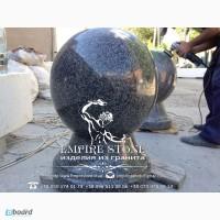 Шар из натурального камня, шар гранитный