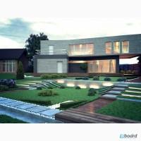 VIP проекты коттеджей домов от прогрессивных молодых архитекторов