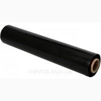 Черная стретч-пленка первичка 55 см 20 мкм 2 кг 200