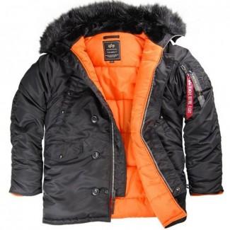 Фирменные куртки Аляски из США от Alpha Industries Inc