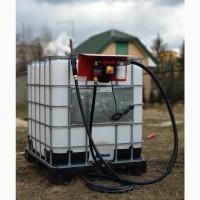 Качественный заправочный модуль на еврокуб для дизельного топлива АЗС