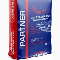 Партнер Partner ENERGY 20-20-20+S+ME+АМК 25 кг