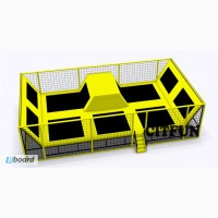 Новый бизнес -батутные залы! Предлагаем коммерческий батутный комплекс от производителя