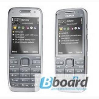 Оригинальный телефон nokia e52 Silver Grey