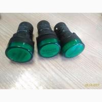 Сигнальная лампа светосигнальная зелёноя electro AD22-22DS