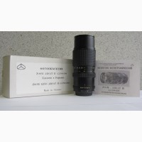 Продам объектив ГРАНИТ-11Н ZOOM ARSAT H 4, 5/80-200 на Nikon.Новый