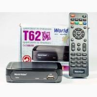 Эфирный цифровой Т2 тюнер World Vision T62М Интернет + Youtube + AC3