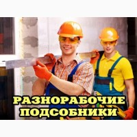 Услуги разнорабочих, грузчиков, демонтажников, землекопов