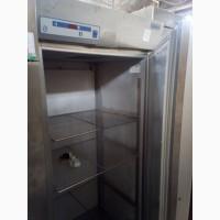Шкаф б/у холодильный из нержавеющей стали для столовой