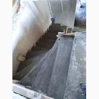 Устройство железобетонные лестницы
