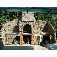 Профессиональная кладка печей-барбекю, каминов, сооружение бассейнов, саун, беседок