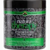Маска для волос с макадамией Morfose Natura Therapy Macadamia Hair Cream Mask