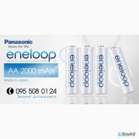 АКЦИЯ! Аккумуляторы Panasonic Eneloop AA 2000 mAh, BK-3MCC, 2100 циклов