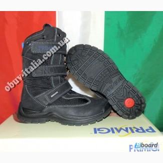 Ботинки детские зимние кожаные Primigi оригинал Италия