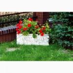 Вазоны для цветов, цветочники уличные, цветники садовые, вазы для цветов из бетона