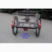 Электровелосипед трехколесный грузовой HAPPY + реверс