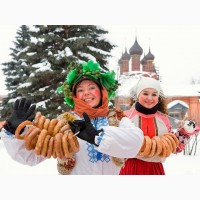 Туры по Украине на масленицу в Парк Киевская Русь: семейный автобусный тур из Киева