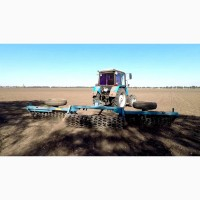 Каток кольчато-шпоровый ККШ-6Г почвообрабатывающий для уплотнения почвы на полях