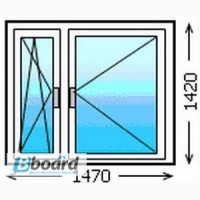 Окна из дерева,фурнитура ROTO,энергосберегающий стеклопакет