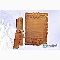 Свадебные пригласительные и открытки-свитки
