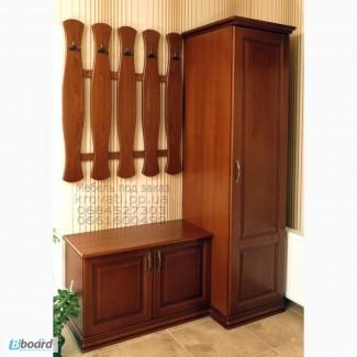 Мебель для прихожей Амина из массива ясеня от производителя