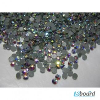 Стразы DMC ss16 Crystal AB, 1440шт. (3, 8-4, 0мм) хамелеоны