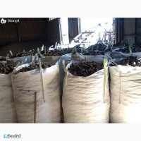 Брикеты из лузги подсолнечника от компании «БИООПТ» по цене производителя