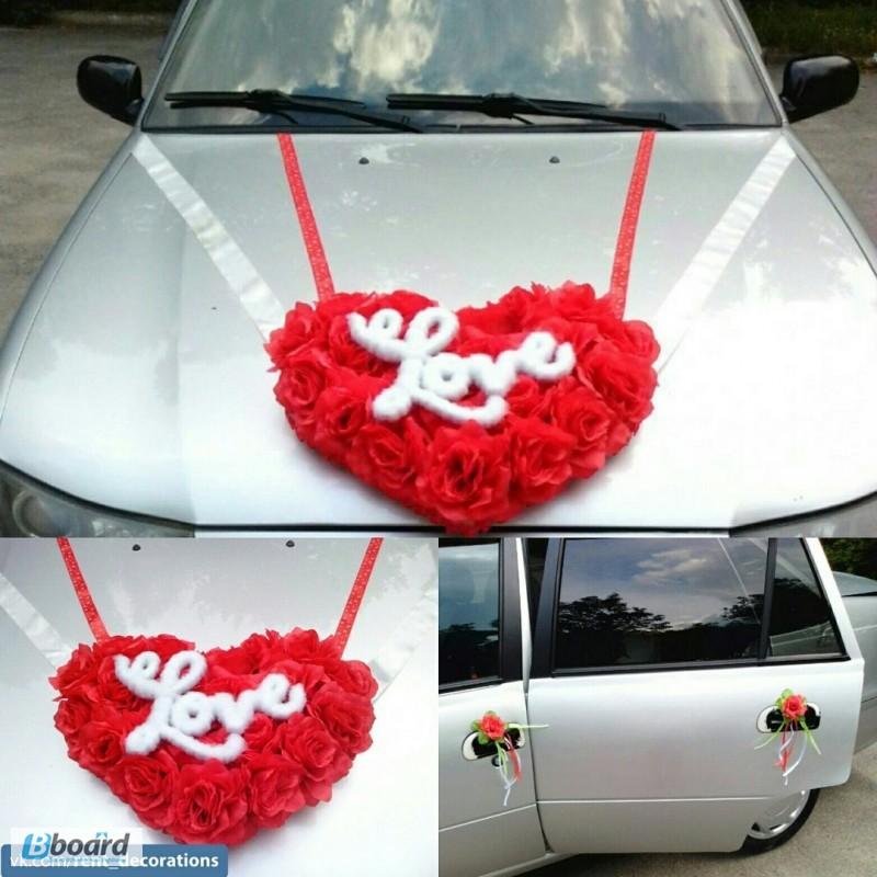 Мастер-класс свадебные украшения на машину своими руками