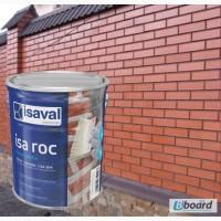 Фасадный прозрачный лак Isaval Иза-Рок 0.75л с эффектом Мокрый Камень на растворителе