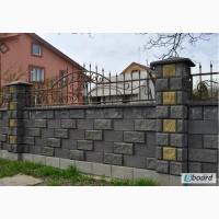 Кладка декоративного блока в Киеве и Киевской области