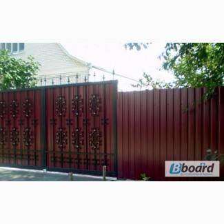 Забор из профнастила недорого в Одессе