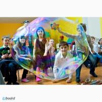 Шоу мыльных пузырей на праздник Киев, Боярка, Тарасовка, Вишневое