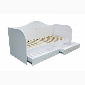 Детская, подростковая кровать -диванчик с ящиками