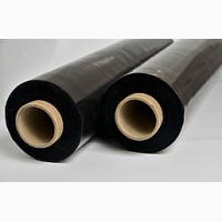 Черная стретч-пленка первичка 55 см 20 мкм( 3, 2 кг 320 м )