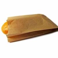 Пакет бумажный саше большой 210*390*60мм (для батона, хлеба, булочек)