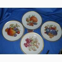 Десертные тарелки. Баварский фарфор (Германия) 9 штук