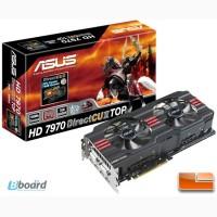 Продам видеокарту ASUS Radeon HD 7970 DirectCU II TOP