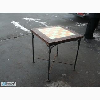 Продажа столов кованых бу для баров