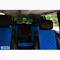 Чехлы на сиденья автомобиля. Полный комплект. Синий цвет