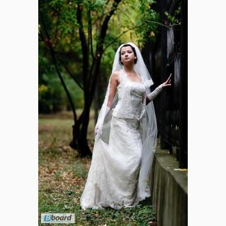 Свадебная платье изысканное 40-44