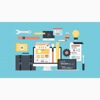 Создание сайтов, поисковое продвижение (SEO) и поддержка