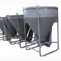 Бункер / бадья / тара / емкость для бетона Рюмка 1 куб