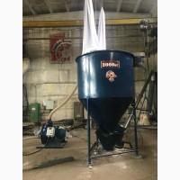 Вертикальный смеситель кормов «ГНОМ», 2000 кг
