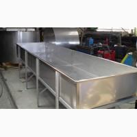 Изготовим под заказ изделия из стали нержавеющей пищевой и технической