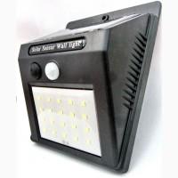 Настенный наружный светильник! Cолнечная батарея! Датчик движения! Solar LED Wall Light